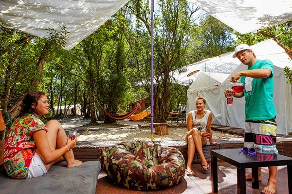 camping les landes avec barbecue