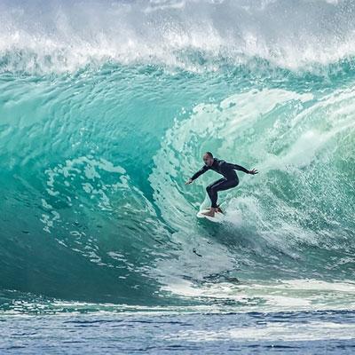 camping surf hossegor