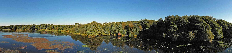paysage camping léon