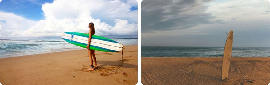 Surfurlaub in der landes