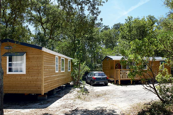 rental of mobile homes with all comforts camping moliets