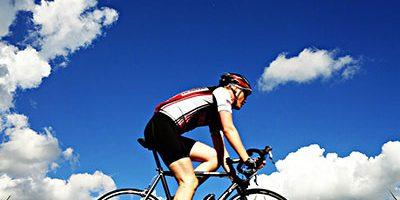 faire du vélo camping landes