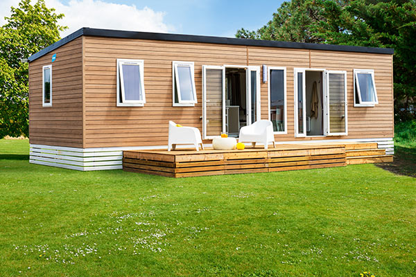 Holidays mobile home camping Landes