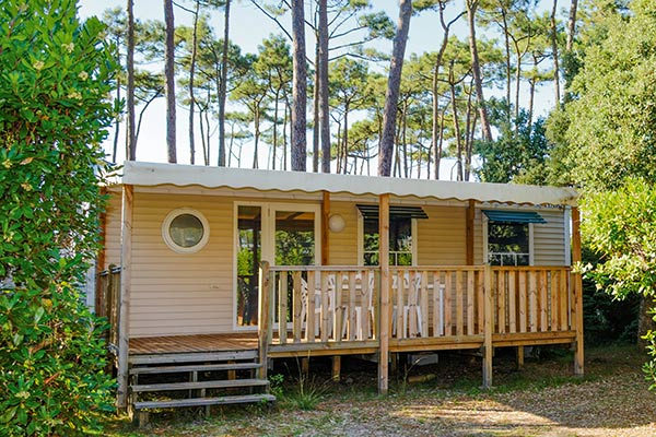 Rent mobile homes camping Moliets Plage