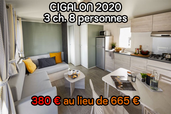 Location mobil-home Landes