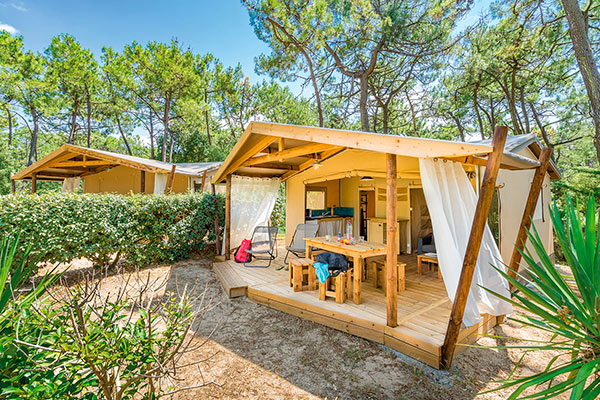 Location lodge landes